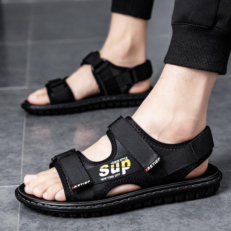 拖鞋男士夏季时尚外穿凉鞋男网红潮流凉拖2020新款两用室外沙滩鞋