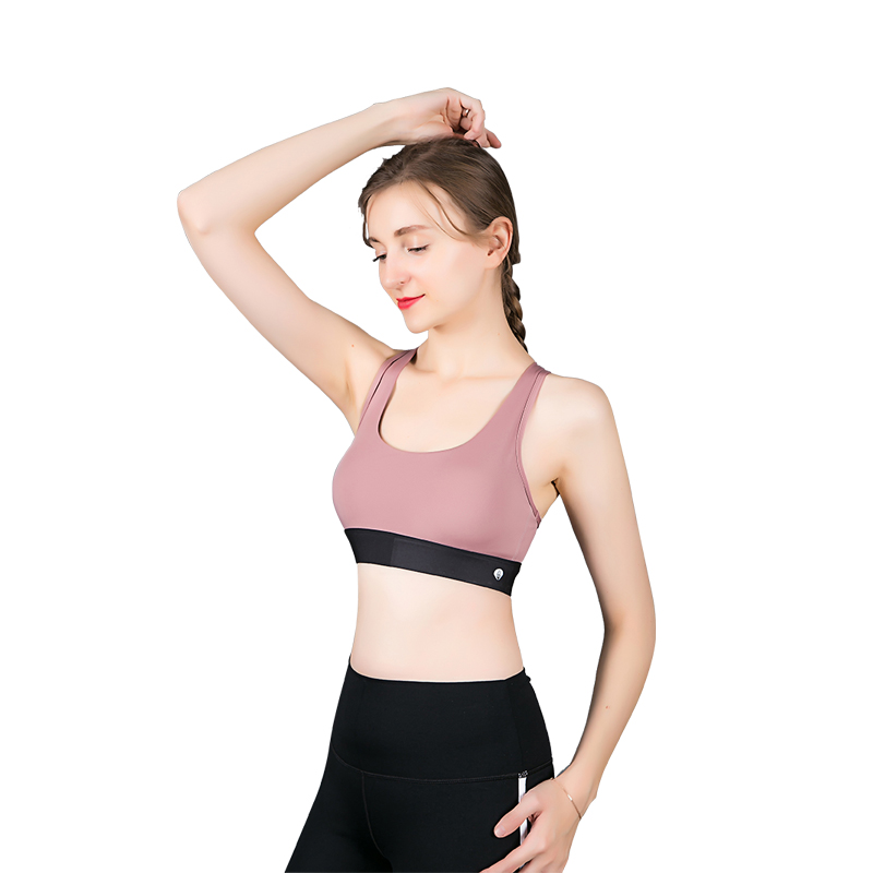 Dai Yus new sports underwear womens shockproof running gathered to show their chest, small can wear a beautiful back sports bra