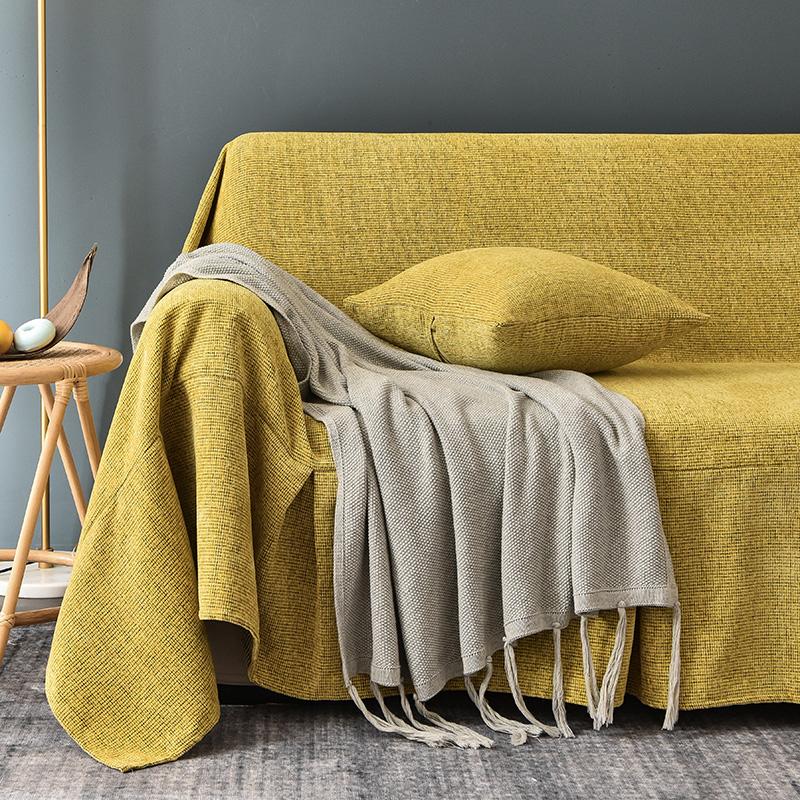 北欧防猫抓沙发盖布ins风全沙发套质量怎么样