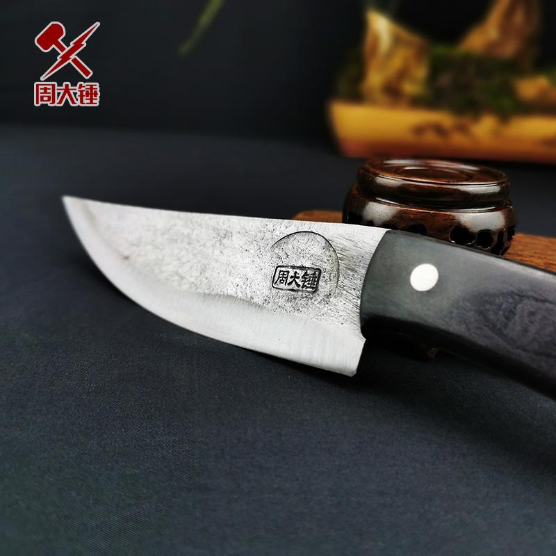 剔骨刀 手工锻打尖刀夹钢刀肉联厂专用屠宰割肉专业割刀屠宰尖刀