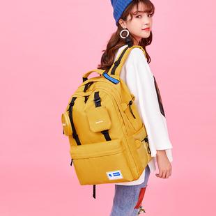 背包女雙肩包超大容量旅行包多功能出差旅游輕便電腦包大學生書包