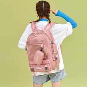 书包女中学生校园初中生大学生韩版高中双肩旅行背包大容量电脑包