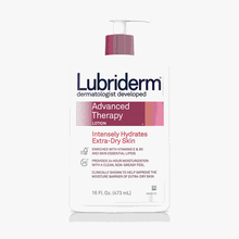 Lubriderm 24-hour advanced moisturizing moisturizing deep moisturizing non greasy lotion 473ml