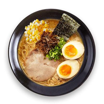 素手时然 日式豚骨猪骨汤拉面条网红方便速食食品非油炸1人份盒装