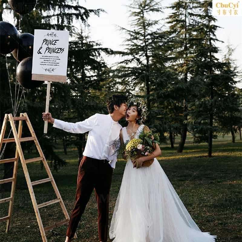 白色创意英文板子影楼摄影道具旅拍外景手持牌婚礼装饰森系手拿板