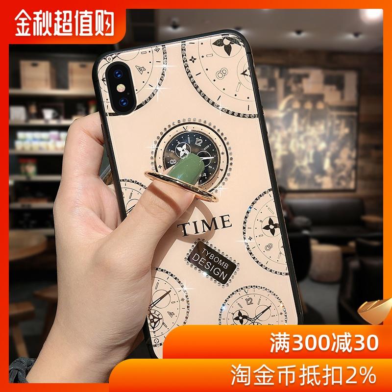 (用42.2元券)英伦风苹果x手机壳男女款iphonexsmax外壳网红xr硅胶xs软壳8plus