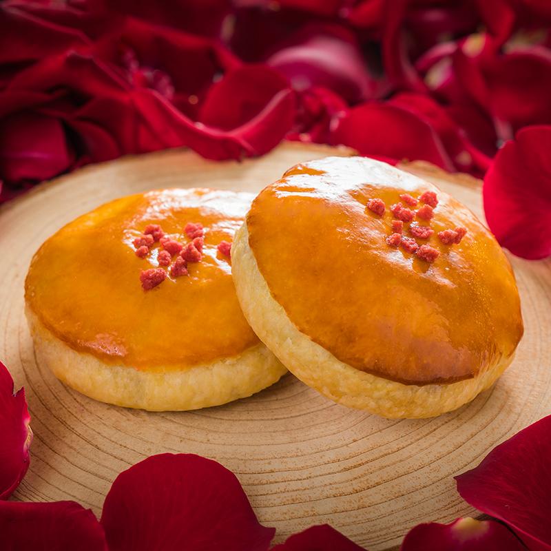 【电子礼券北京300家店通用】味多美玫瑰味老婆饼糕点