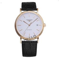 专柜正品瑞士浪琴瑰丽系列大表盘手表机械男表L4.921.2.18.2