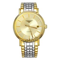 专柜正品瑞士浪琴瑰丽系列大表盘手表机械男表L4.921.2.42.7