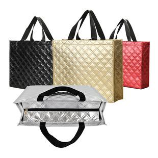 购物袋防水时尚 外出差手提袋子逛街包女旅行袋子衣服化妆品收纳袋