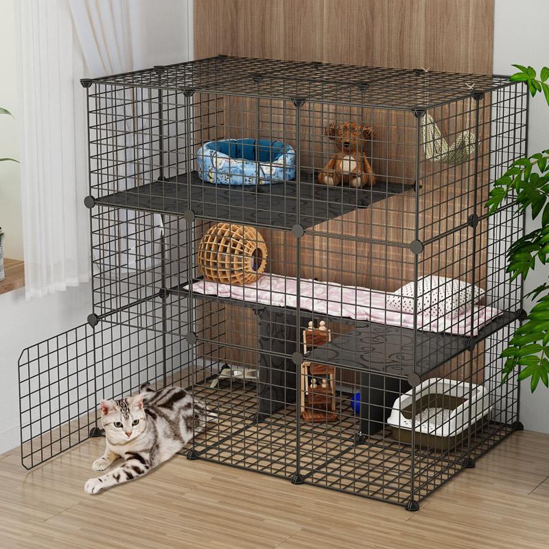 (用10元券)双层别墅超大自由空间室内空猫笼子
