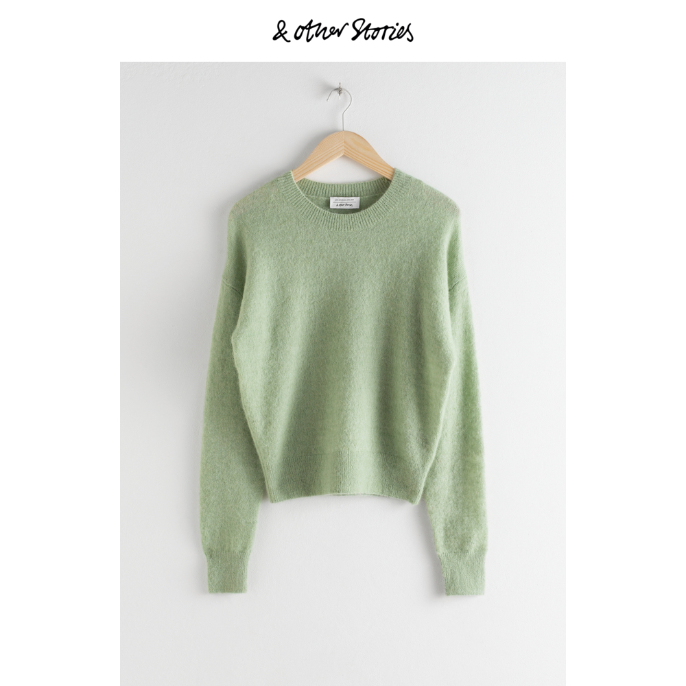Wool short Pullover new Slouchy top for women & Other Stories la0624601