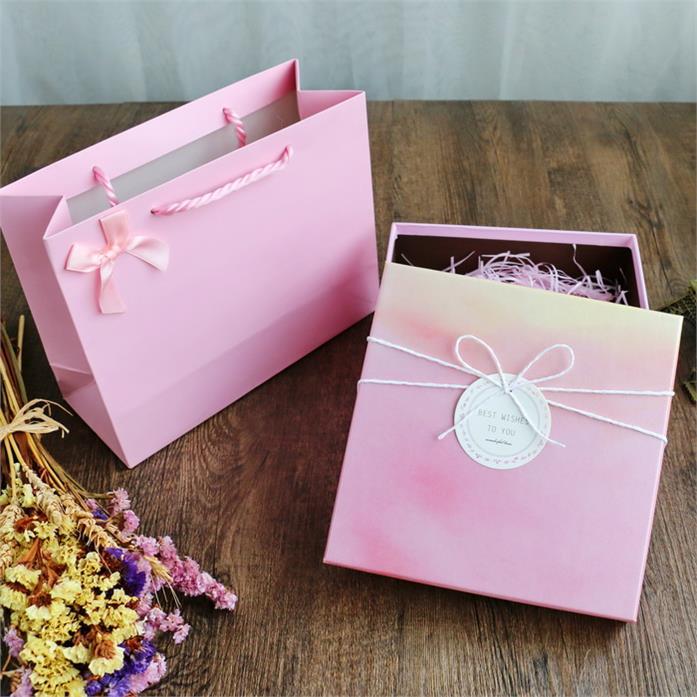 中国生日礼物成品空蓝色桃心形包装满9元可用1元优惠券
