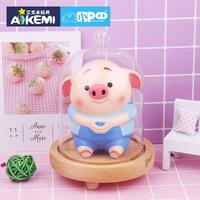 猪小屁官方正版减压盲盒女孩动物创意解压男孩办公室摆件逗趣玩具
