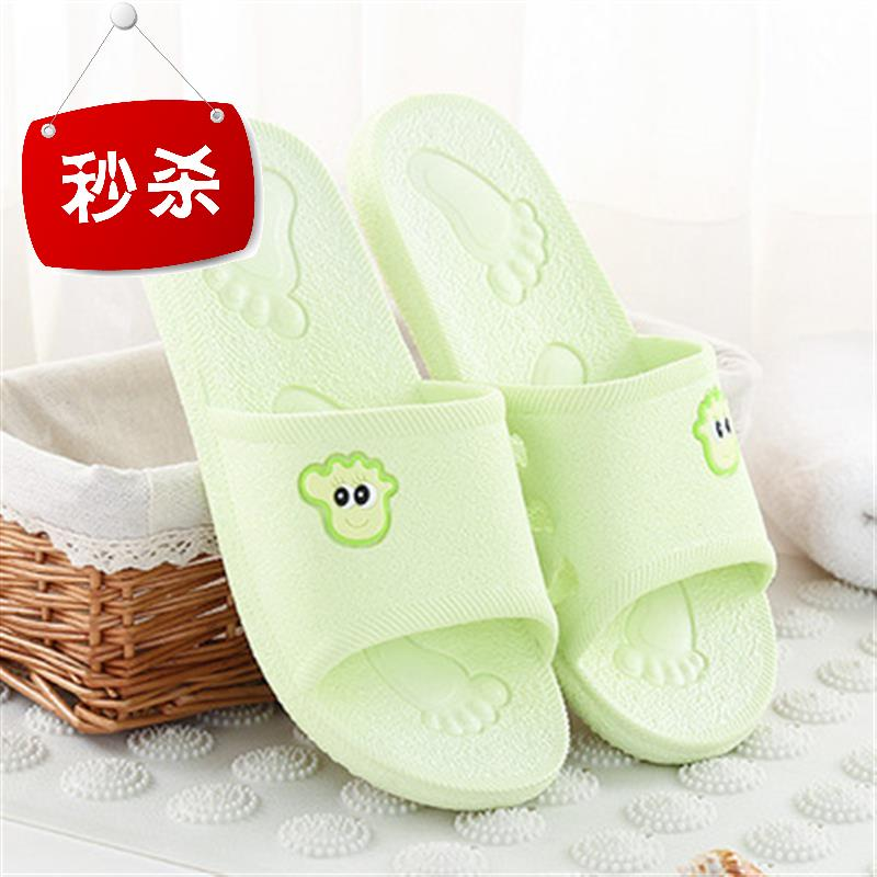 Board of directors o thickened household slippers summer floor stand couple cool mop indoor lovely bath non slip sandals female bath