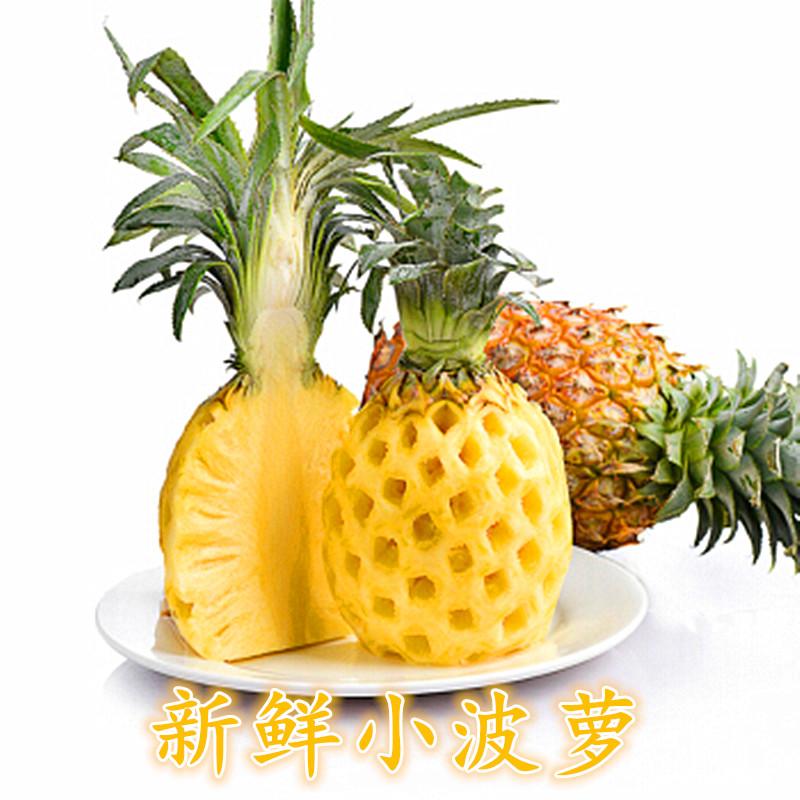 新鲜迷你小香水菠萝装新鲜水果小菠萝5斤5-7个