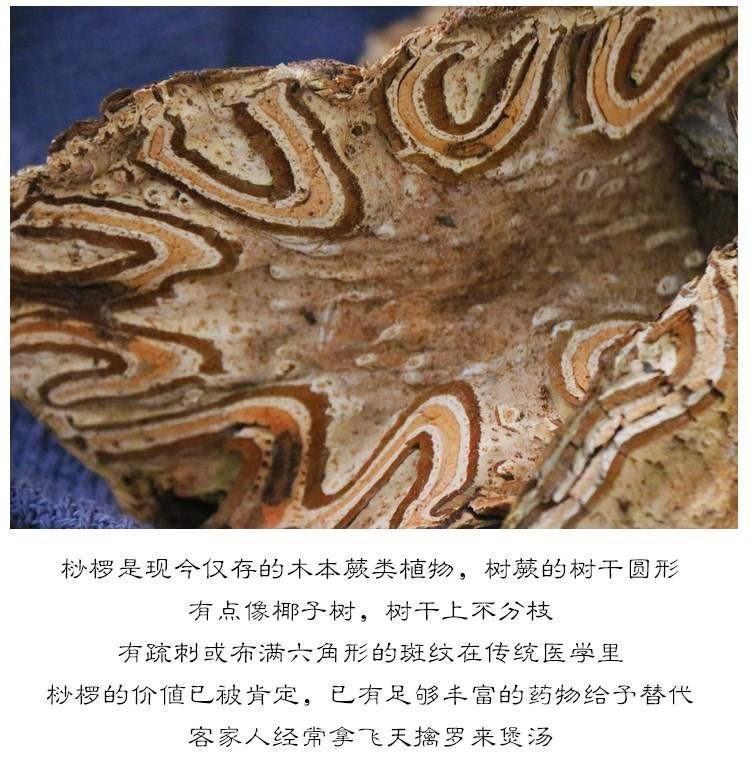 广东煲汤料 桫椤擒罗 河源特产 山卡捞劳禽 飞天500g