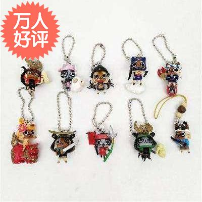 High grade parcel post bulk cargo doll Pendant AILU cat with cat Hunter cat box egg Monster Hunter Mini twist.