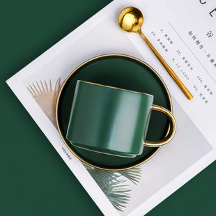 欧式小奢华陶瓷情侣咖啡杯套装ins风下午茶法式北欧高档现代轻奢