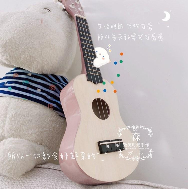 乌克丽丽尤克里里入门初学者小吉他成人学生男女乐器木质新款儿童