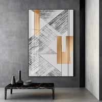 影拥 疏雅 现代简约黑白风格抽象装饰画书房挂画设计师样板房壁画