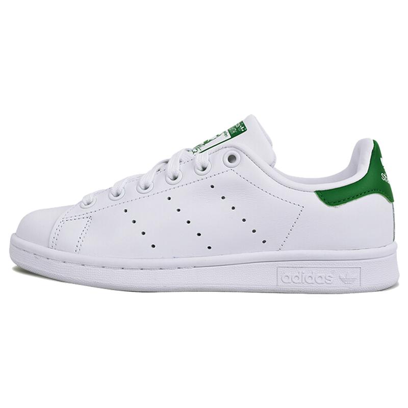 Adidas阿迪达斯三叶草女鞋stansmith史密斯绿尾小白鞋板鞋M20324图片