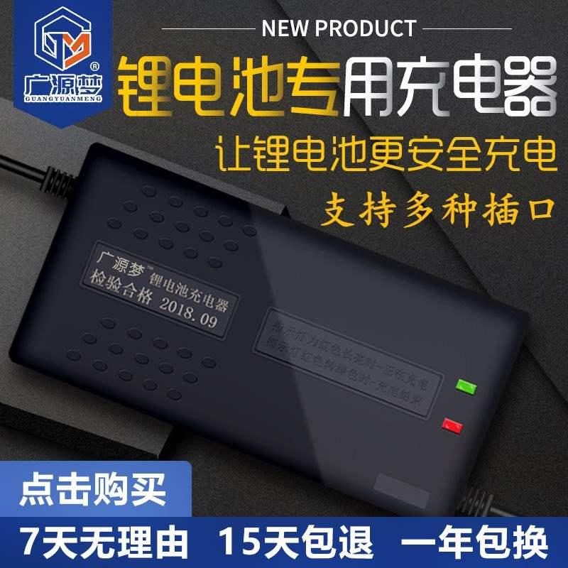 锂电池磷酸锂电池新电动车铁充电器48v5a60v5a72v5a8a充电
