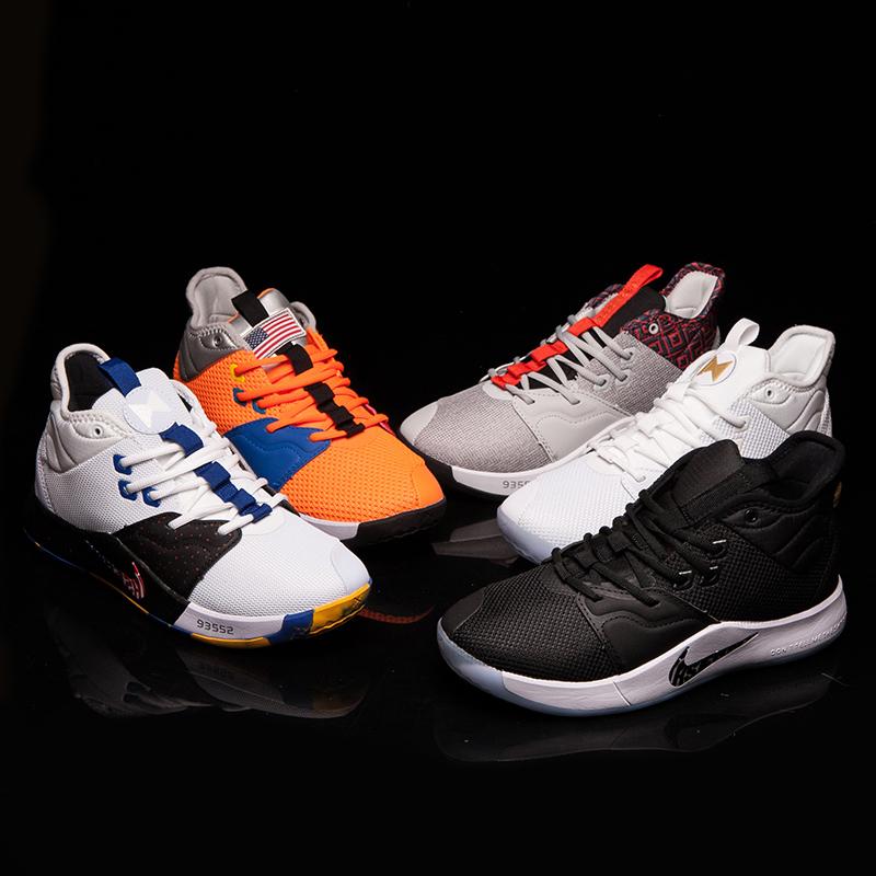 VSzK联名lhserndPG3保罗乔治3代 黑白金彩虹宇航员篮球鞋男鞋1