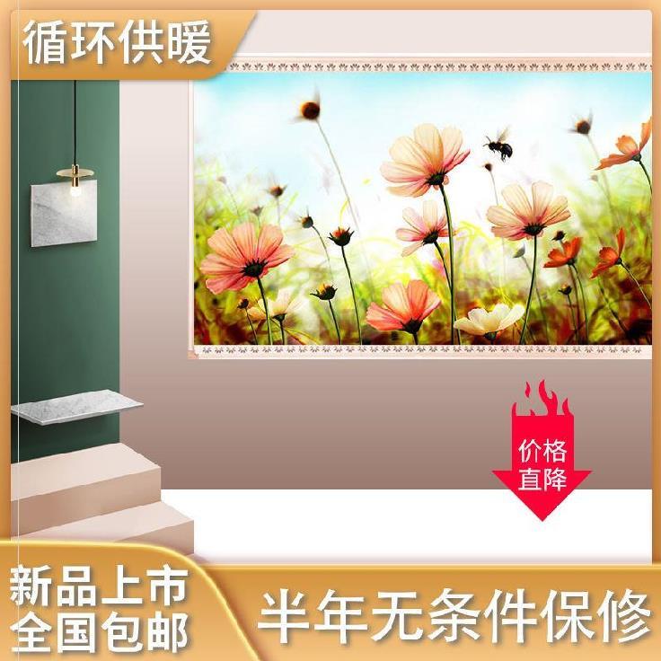 电加热板取暖器墙壁画壁挂炉加热暖气片电暖电热板快热式取暖过冬