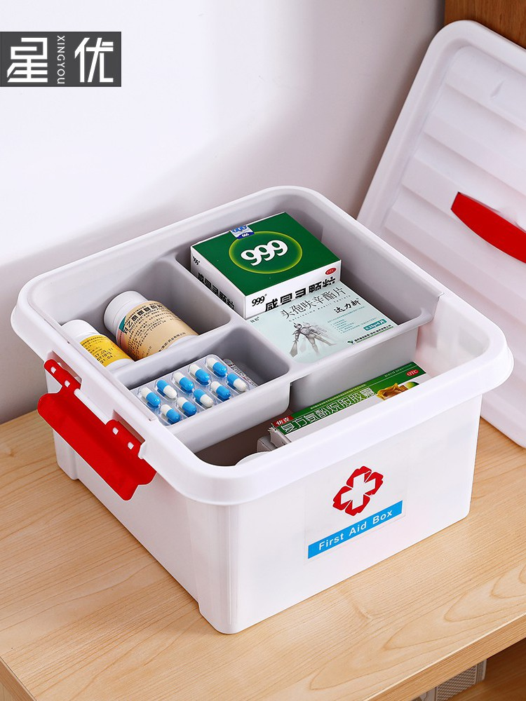 2020 household medicine box childrens medicine box dormitory medical supplies medical family first aid kit medicine storage