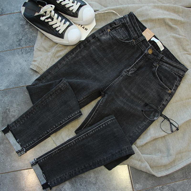大码女装春装2020年新款胖妹妹mm显瘦洋气牛仔裤胯大腿粗女裤子图片