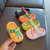 查看小童洞洞鞋儿童拖鞋男童女童婴幼儿防滑软底室内防撞宝宝凉拖鞋夏价格