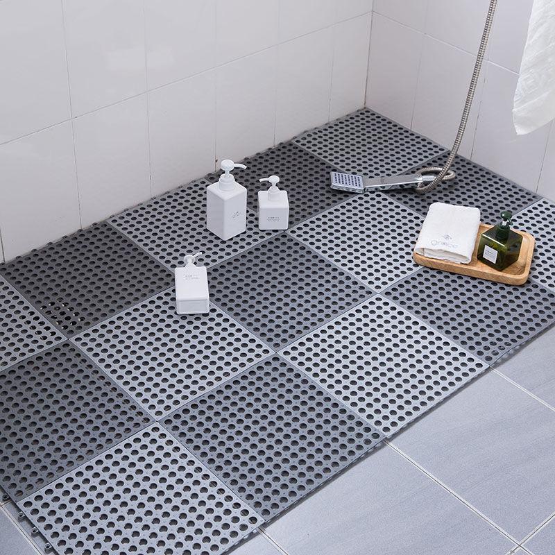 纤梦家纺浴室防滑垫厕所厨房隔水脚垫淋浴房洗澡卫生间拼接地垫