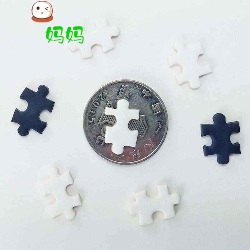 。 Pure black hell puzzle student pattern primary school boy child home piece dream pure white plane aesthetic