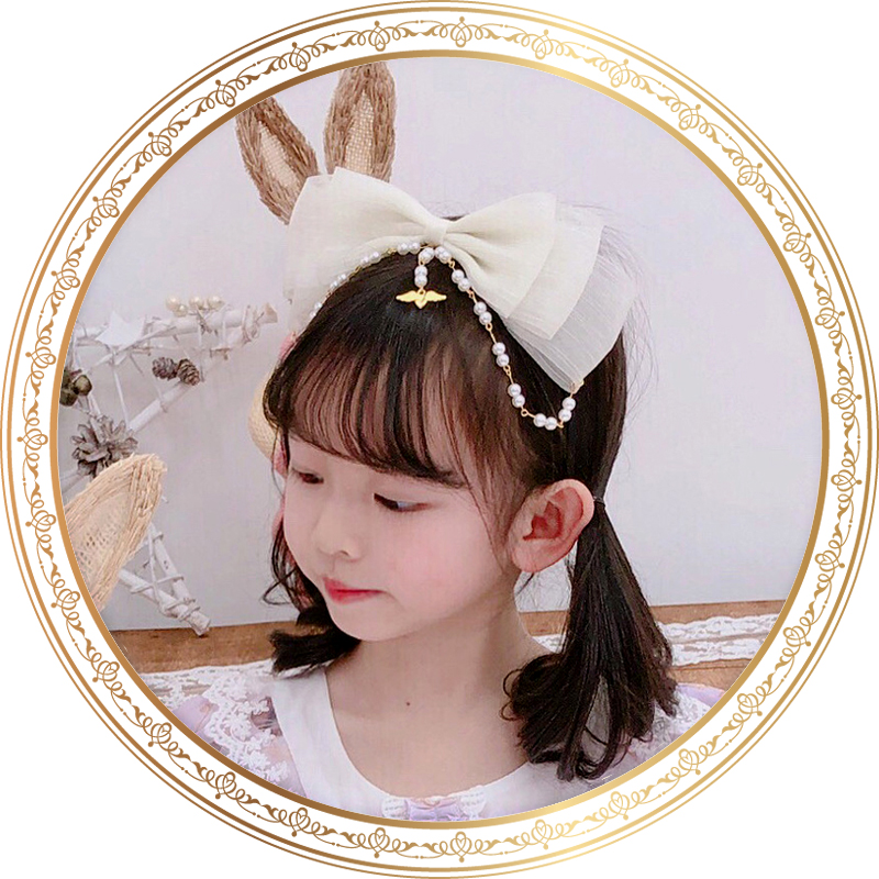 Lolita headdress pearl hair dress Lolita hair band small commodity accessories with princess skirt hair clip