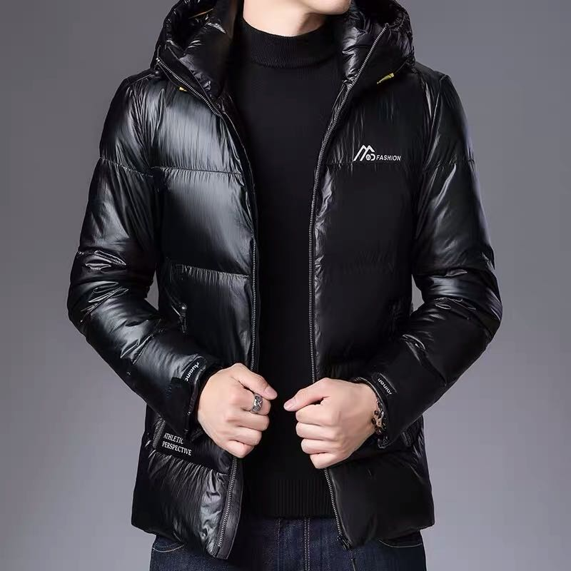 [factory direct selling cotton clothes mens thickened 2020 new winter coat hooded mens fashionable short jacket