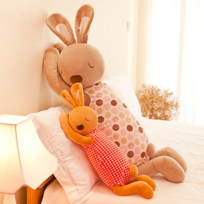 安抚兔子玩偶毛绒玩具兔陪睡觉布娃娃公仔可爱儿童宝宝抱枕女孩男