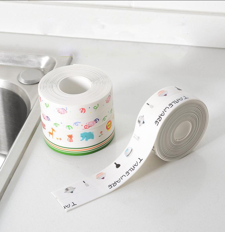 厨房防霉防水胶带厨卫密封条胶条