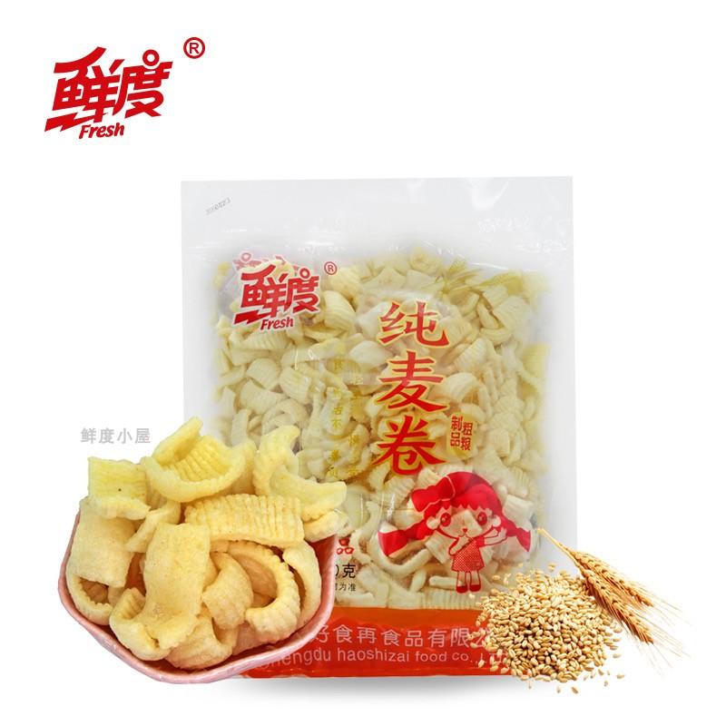 鲜度新品纯麦卷薯片360克 超大分量密封条包装聚会年会分享零食