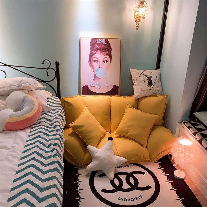 凡居客懒人沙发两用床折叠躺椅榻榻米单人双人网红女生卧室小户型