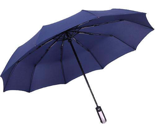 固晴雨两用牢固超大号全自动雨伞折叠开收大号双人三折防风男女加