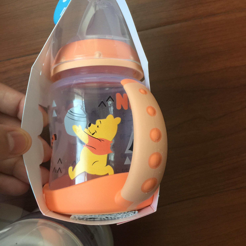 (用5元券)幼儿卡通限量款鸭嘴喝水训练学饮吸管水杯德国进口正品宝宝