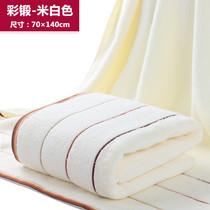 加大毛巾加厚浴巾纯棉吸水90*180CM 沙滩巾单人盖毯成人