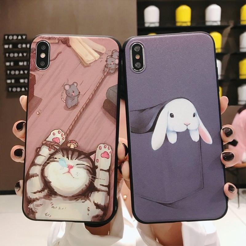 VIVO X27手机壳新款宠物猫华为MATE20保护套适用P30Pro护套苹果x