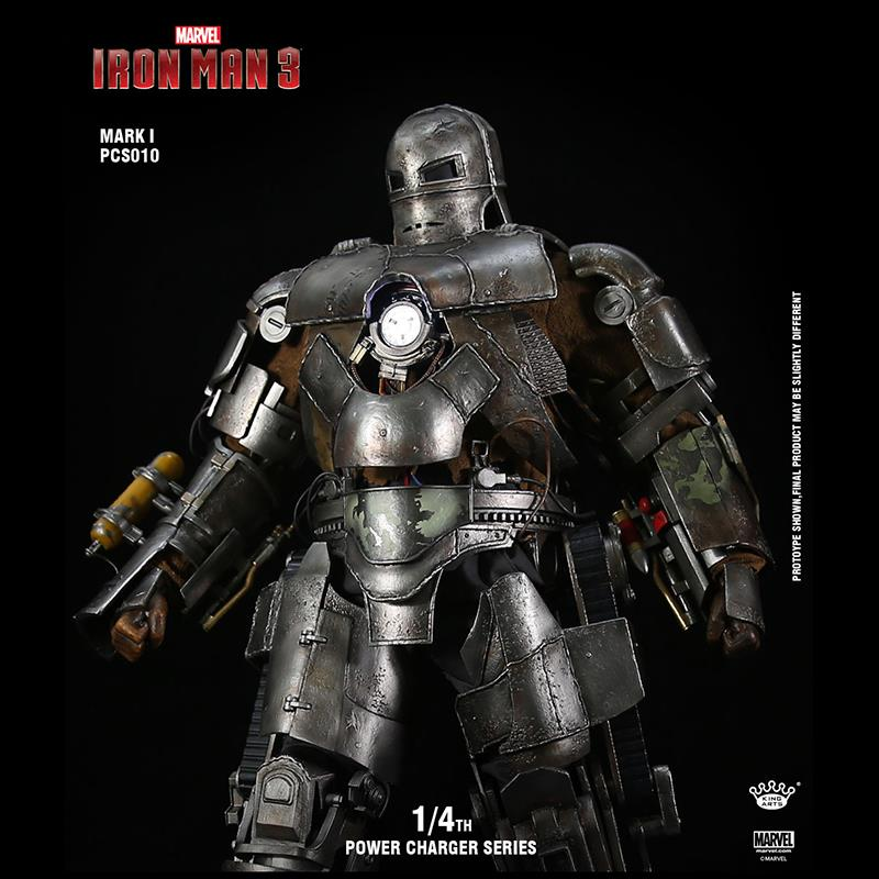 满11856.00元可用1元优惠券畅销复仇者King Arts KA漫威1/4MK1钢铁侠全身像电影动漫手办模型