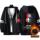 Qing Man Story The Seven Deadly Sins The Seven Deadly Sins Plus Fleece Sweatshirt Jacket Trendy Brand Zipper Hooded Clothes Black