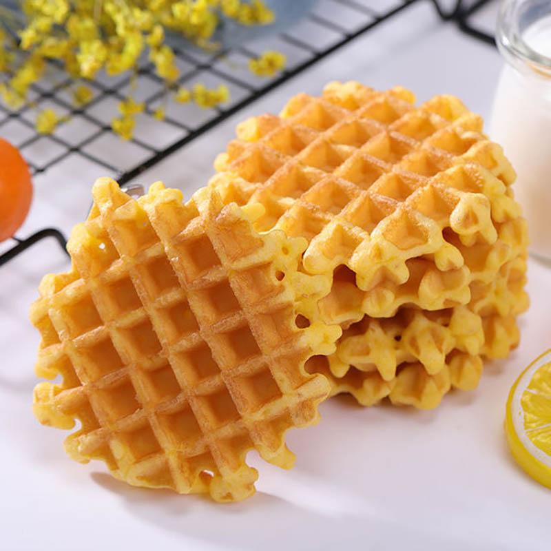 新款 华夫饼早餐面包整箱4斤休闲蛋糕小零食点心面包糕点西式