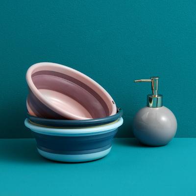可折叠洗脸盆家用塑料小号婴儿便携式旅行大号洗衣盆洗澡洗脚盆子