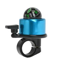 自行车铃铛铝合金山地公路车大声超响指南针喇叭单车骑行配件装备