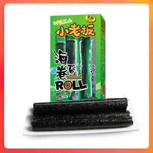 老板仔海苔卷27g*1盒装经典香脆大海苔片泰国风味脆紫菜即食零食
